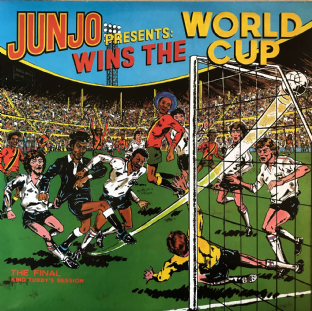 V/A - Junjo ‎Presents Wins The World Cup: The Final King Tubby's Session (LP) (EX/VG-EX)